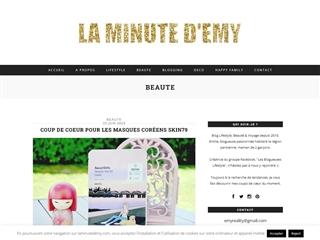 La Minute d'Emy : Beauté