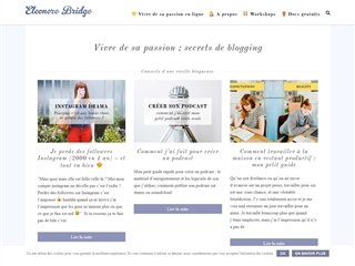 Eleonore Bridge : Secrets de Blogging