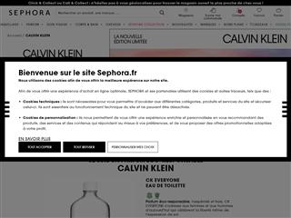 Sephora : Calvin Klein
