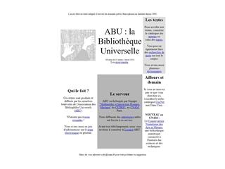 La Bibliothèque Universelle