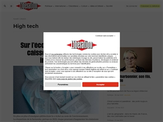Libération : High-tech