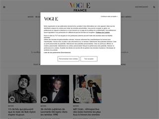 Vogue : Mode hommes