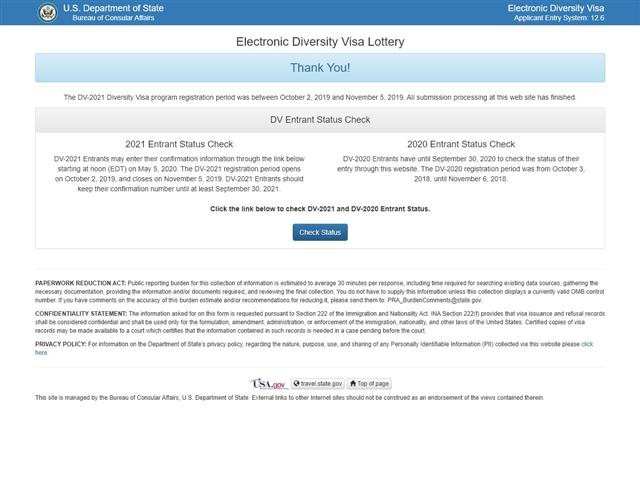 Loterie Carte Verte - Site officiel
