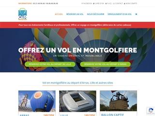 air montgolfières : Lille et sa région