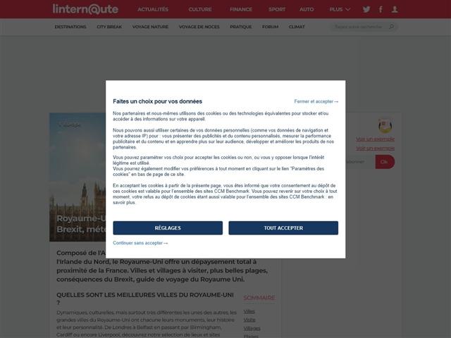 L'Internaute Voyage : Royaume-Uni