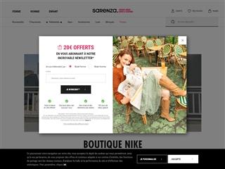 Sarenza : Nike