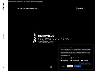 Deauville : Festival du Film Américain de Deauville