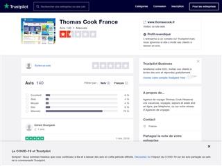 Trustpilot : Thomas Cook