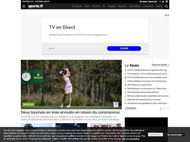 Sports.fr : Golf