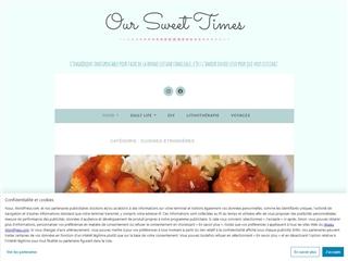Our Sweet Times : cuisines étrangères