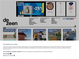 Dezeen : architecture