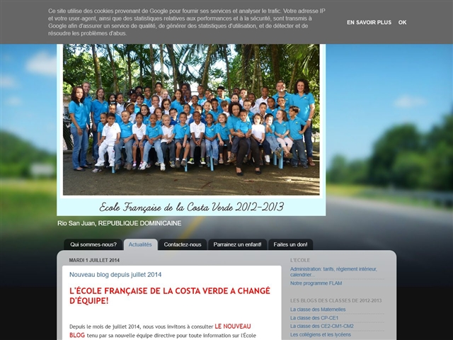 L'Ecole Française de la Costa Verde