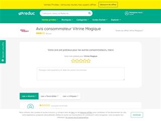 Ma-reduc.com : Vitrine Magique
