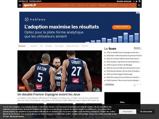Sports.fr : Basket