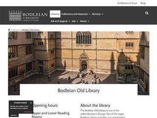 Bibliothèque universitaire Bodleian
