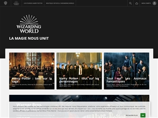 Harry Potter (site officiel du film)