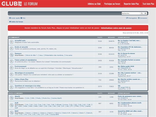Auto Plus : Forum