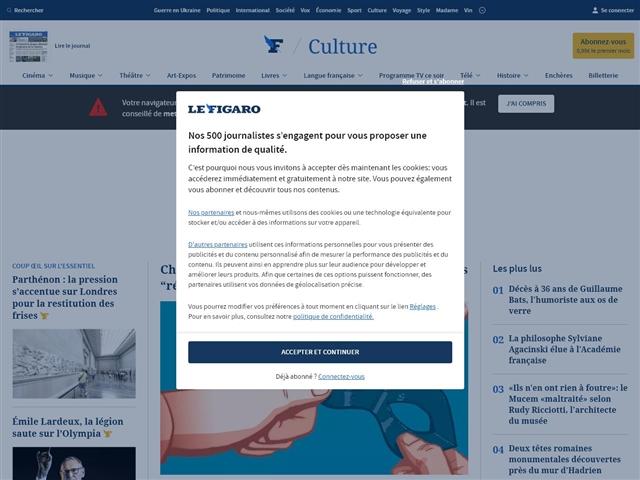 Le Figaro : Culture BD