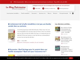 Le Blog Patrimoine