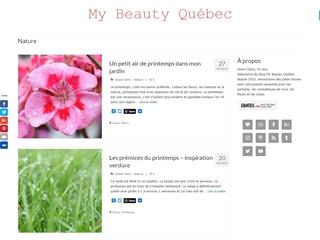 My Beauty Québec : Fleurs et Nature