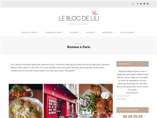 Le Blog de Lili : Restos à Paris