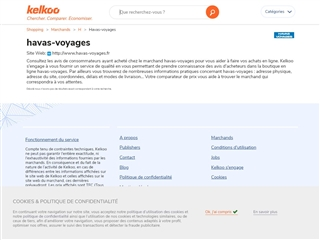 Kelkoo : Havas Voyages