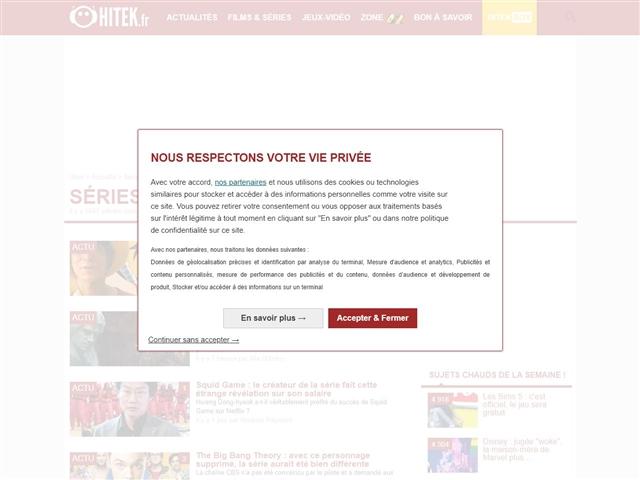 Hitek : Séries TV