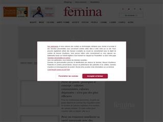 Version Femina : Régimes / Nutrition