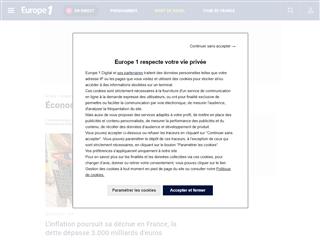 Europe 1 : Economie