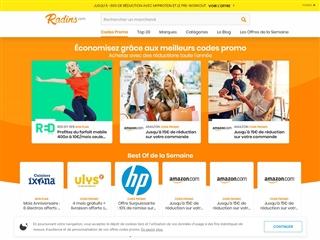 Radins.com : code promo