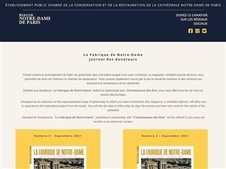 Rebâtir Notre-Dame de Paris : La Fabrique de Notre-Dame