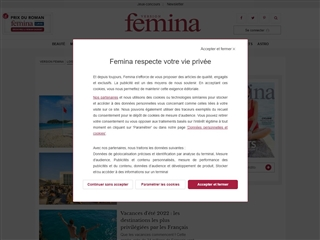 Version Femina : Voyages