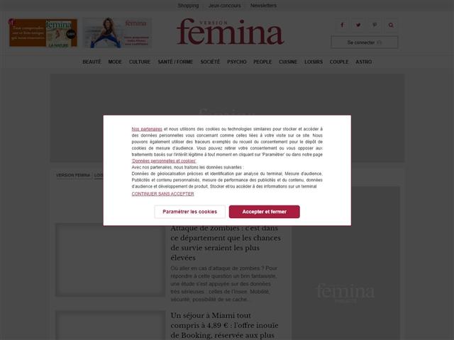 Version Femina : Voyages