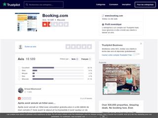 Trustpilot : Booking.com