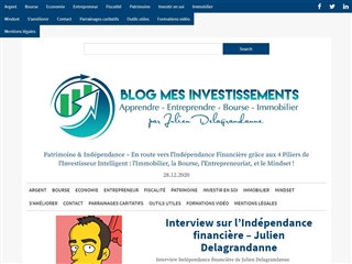 Blog mes investissements.net