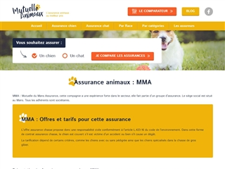 MMA : Assurance animaux