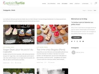 Captain Turtle : City-guide Paris