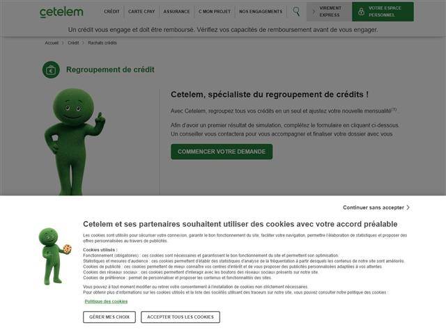 Cetelem : Rachat de crédits