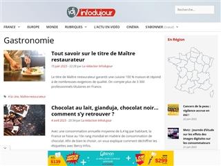 IDJ - Info du Jour : Gastronomie