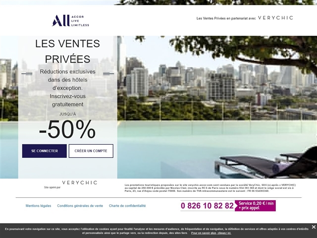 Accor Hôtels Ventes Privées