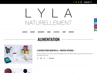 Naturellement Lyla : Alimentation