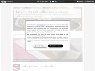 Le blog de cestsalimaquicuisine