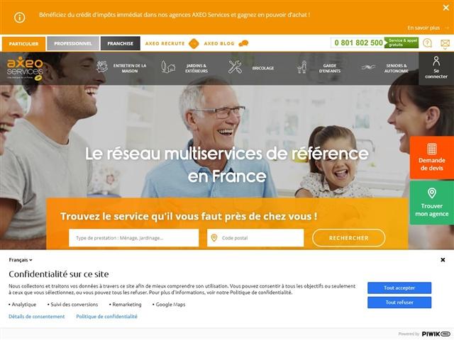 Axeo Services - Seniors et Autonomie