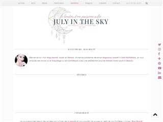 July in the Sky