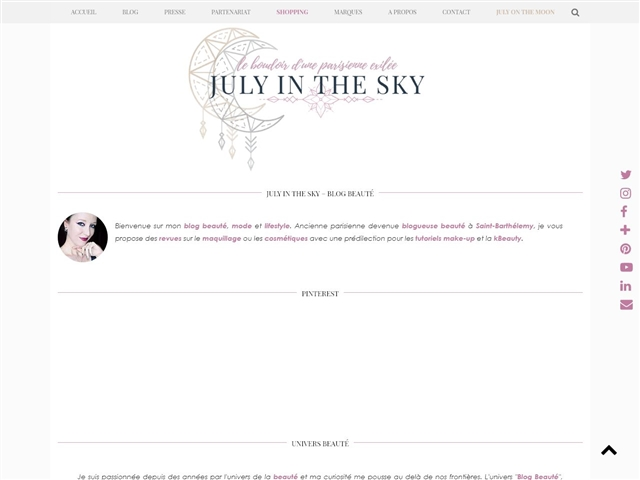 July in the Sky