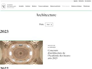 Grand Prix d'Architecture de l'Académie des Beaux-Arts