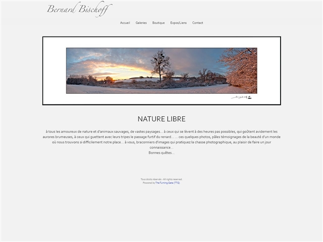 Nature libre - Bernard Bischoff