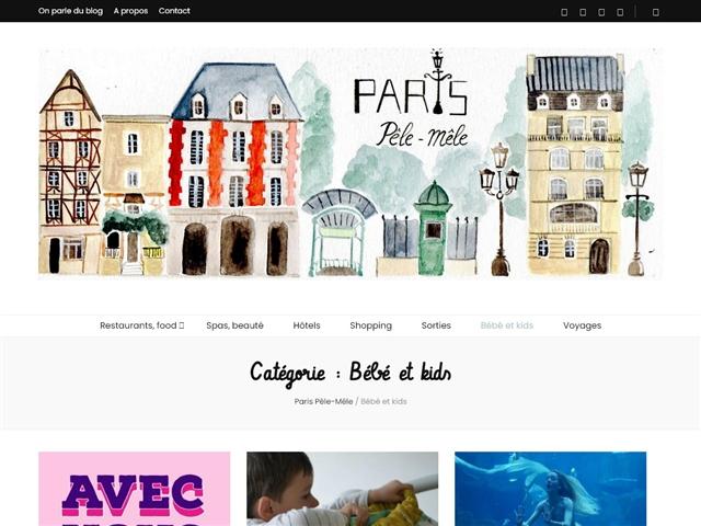 Paris Pêle-Mêle : Bébés et Kids