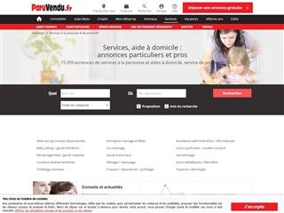 TopAnnonces : Services aux particuliers