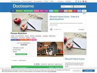 Doctissimo : Forum Cuisine